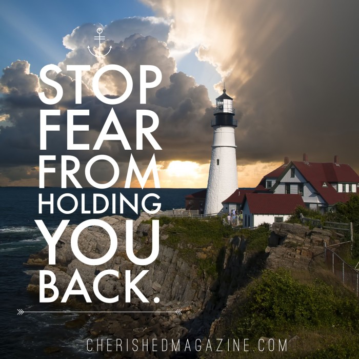 Christian Woman Magazine Stop Fear