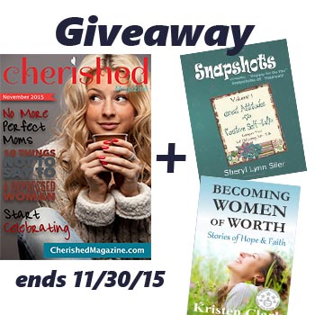 Cherished Magazine Giveaway at PatandCandy
